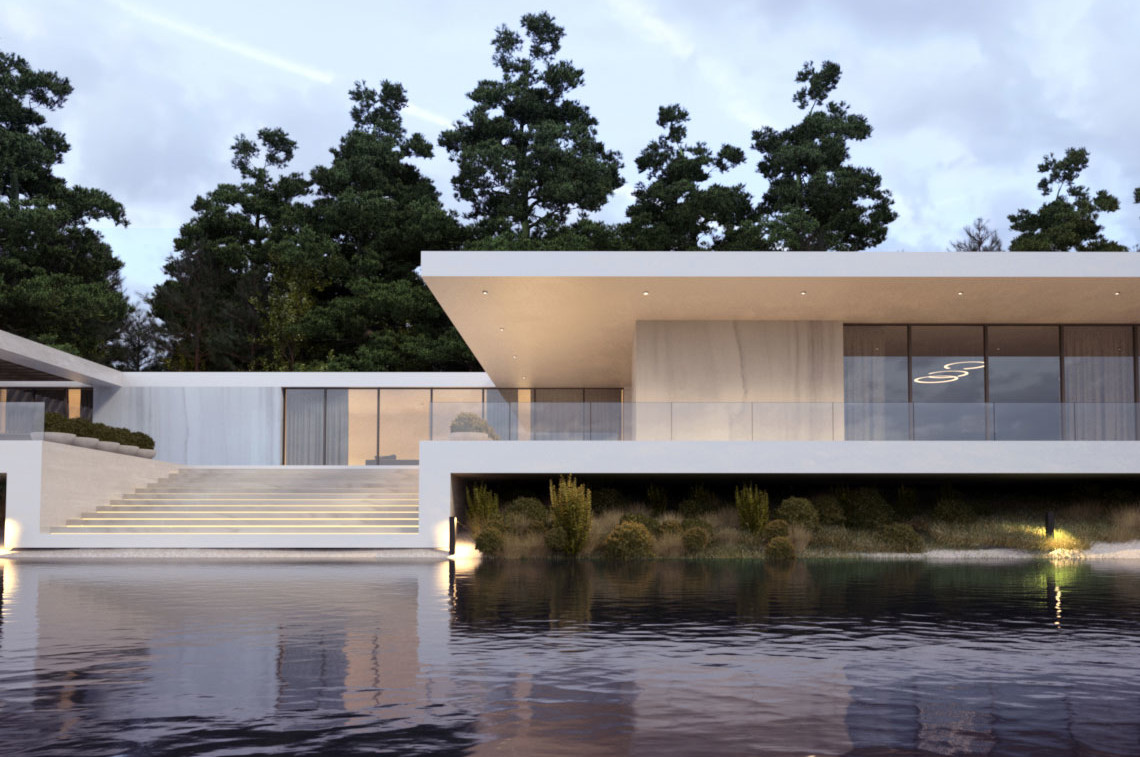Modern project house 87
